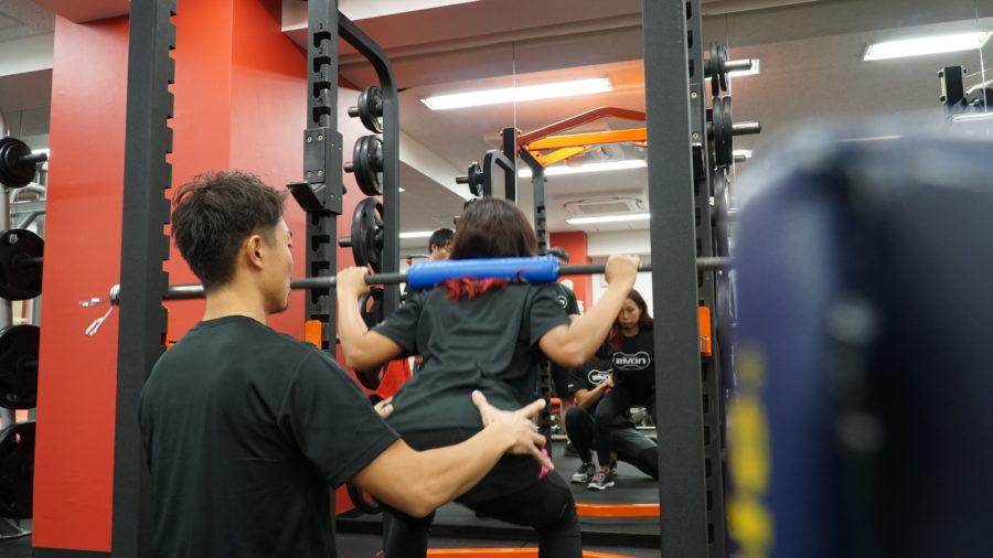 大きい筋肉のトレーニング navis